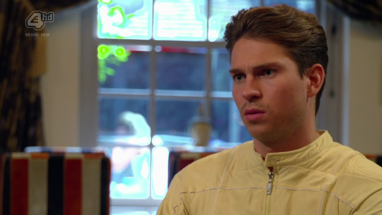 Joey Essex was left flabbergasted when his date developed some wind and expelled it at the dinner table on 'Celebs Go Dating'. Broadcast on E4HD Featuring: Joey Essex When: 29 Aug 2016 Credit: Supplied by WENN **WENN does not claim any ownership including but not limited to Copyright, License in attached material. Fees charged by WENN are for WENN's services only, do not, nor are they intended to, convey to the user any ownership of Copyright, License in material. By publishing this material you expressly agree to indemnify, to hold WENN, its directors, shareholders, employees harmless from any loss, claims, damages, demands, expenses (including legal fees), any causes of action, allegation against WENN arising out of, connected in any way with publication of the material.**