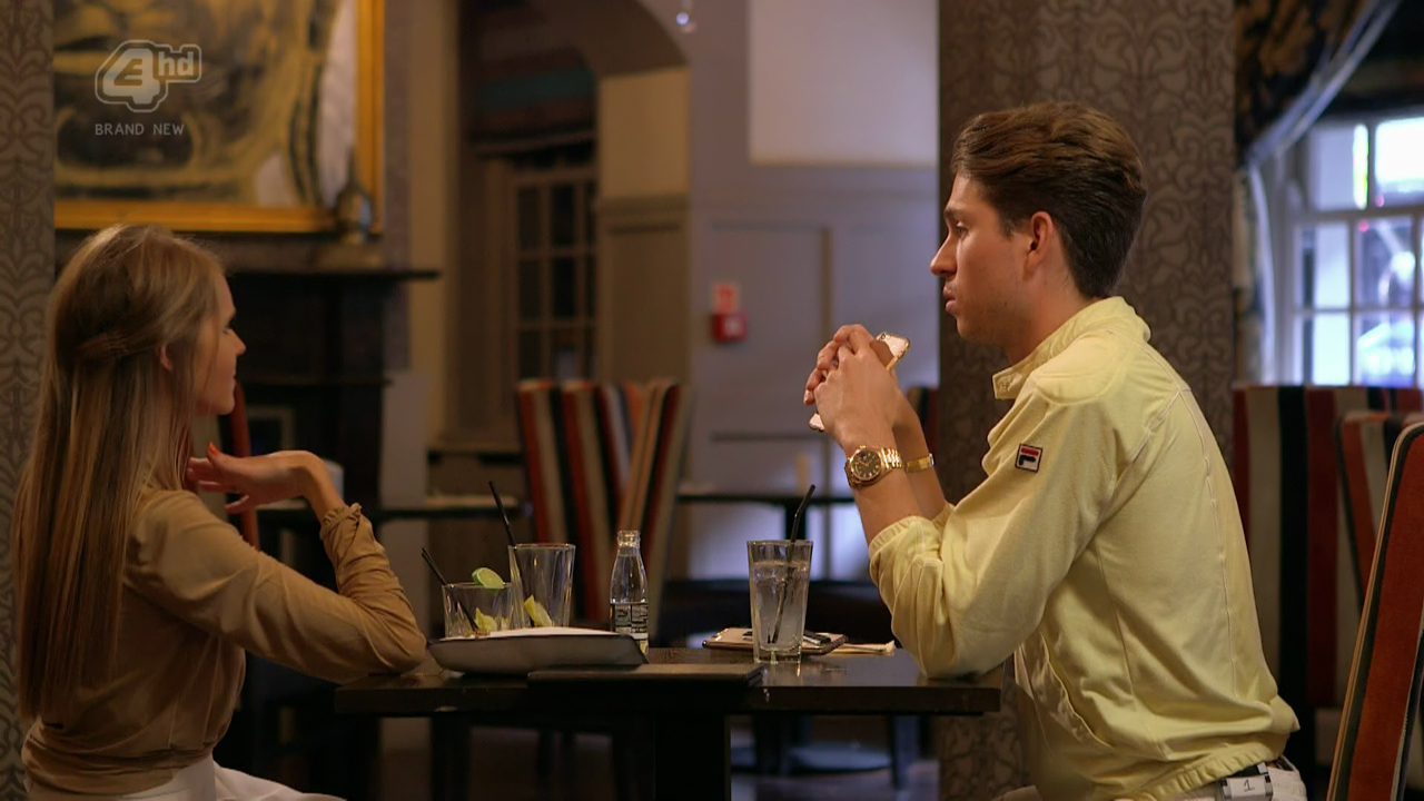 Joey Essex was left flabbergasted when his date developed some wind and expelled it at the dinner table on 'Celebs Go Dating'. Broadcast on E4HD When: 29 Aug 2016 Credit: Supplied by WENN **WENN does not claim any ownership including but not limited to Copyright, License in attached material. Fees charged by WENN are for WENN's services only, do not, nor are they intended to, convey to the user any ownership of Copyright, License in material. By publishing this material you expressly agree to indemnify, to hold WENN, its directors, shareholders, employees harmless from any loss, claims, damages, demands, expenses (including legal fees), any causes of action, allegation against WENN arising out of, connected in any way with publication of the material.**