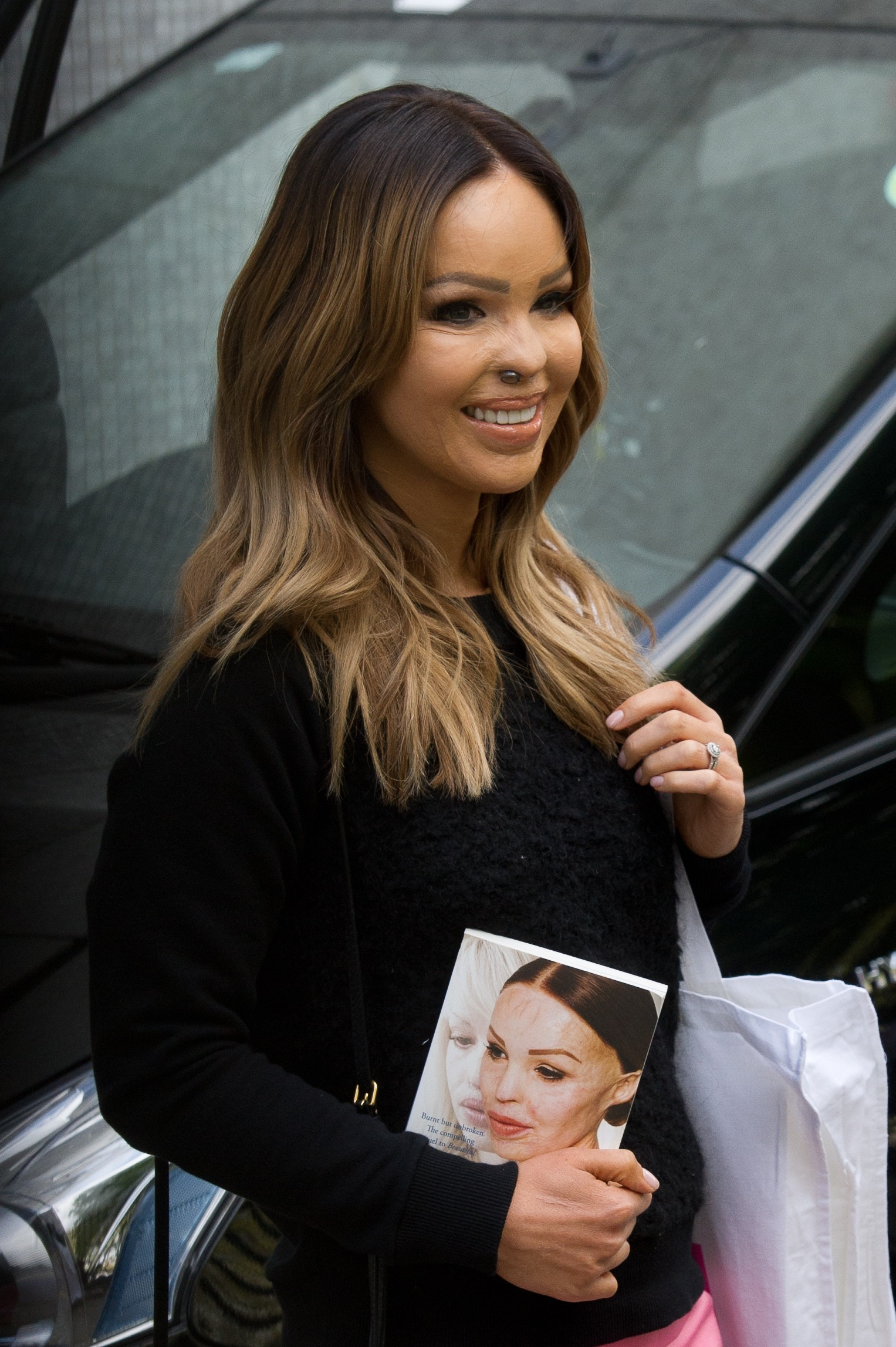 Picture Shows: Katie Piper May 03, 2016 Celebrities seen leaving the ITV Studios in London, England. Non Exclusive WORLDWIDE RIGHTS Pictures by : FameFlynet UK © 2016 Tel : +44 (0)20 3551 5049 Email : info@fameflynet.uk.com