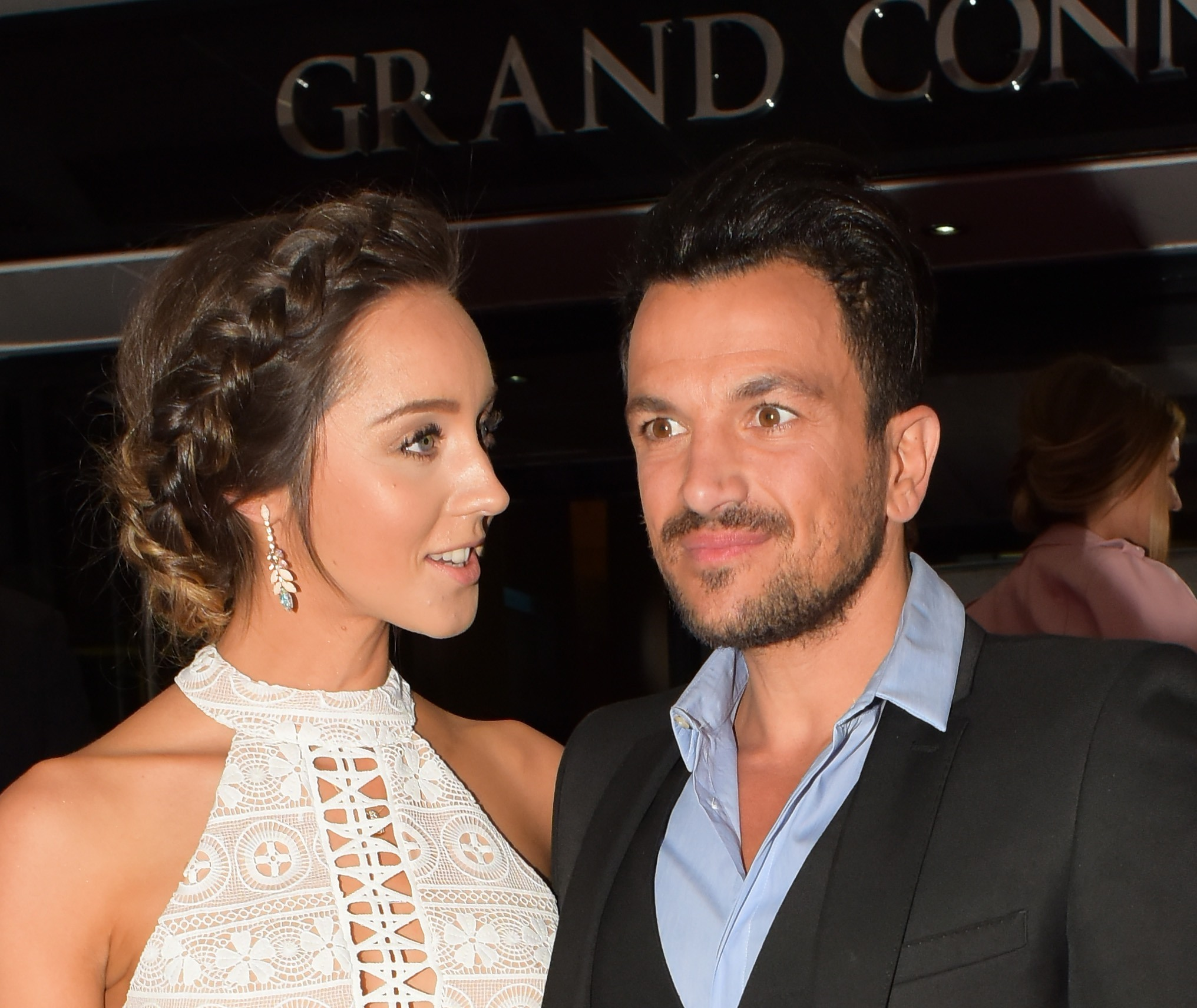 Picture Shows: Emily MacDonagh, Peter Andre May 17, 2016 Celebrities attend the Lorraine High Street Fashion Awards in London, England. Non-Exclusive WORLDWIDE RIGHTS Pictures by : FameFlynet UK © 2016 Tel : +44 (0)20 3551 5049 Email : info@fameflynet.uk.com