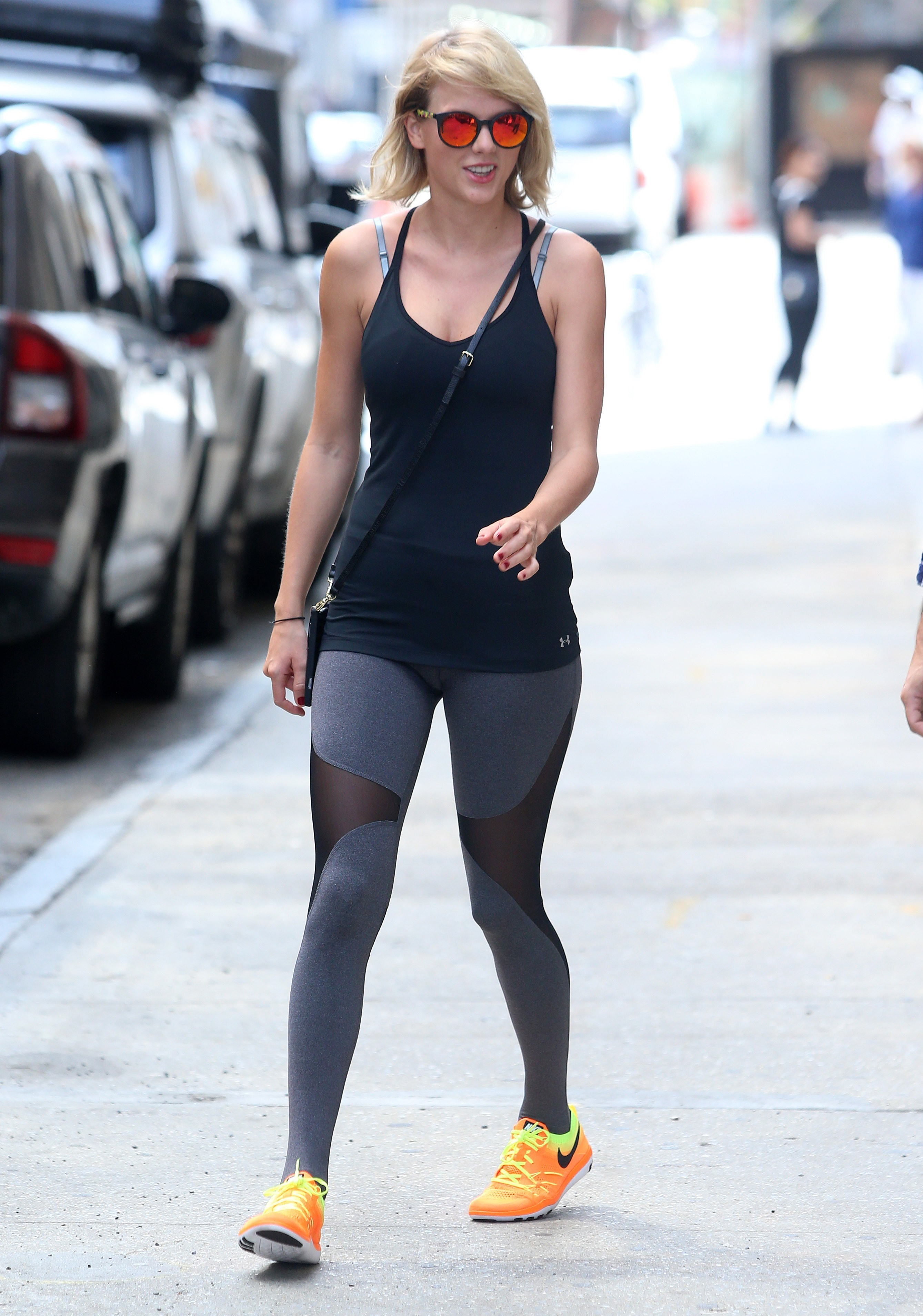 Picture Shows: Taylor Swift August 26, 2016 Singer Taylor Swift is all smiles while out and about in New York City, New York. Swift recently donated $50,000 to the Greater Baton Rouge Food Bank to help victims of the floods in Louisiana that killed at least 13 people and damaged tens of thousands of homes and businesses. Non-Exclusive UK RIGHTS ONLY Pictures by : FameFlynet UK © 2016 Tel : +44 (0)20 3551 5049 Email : info@fameflynet.uk.com