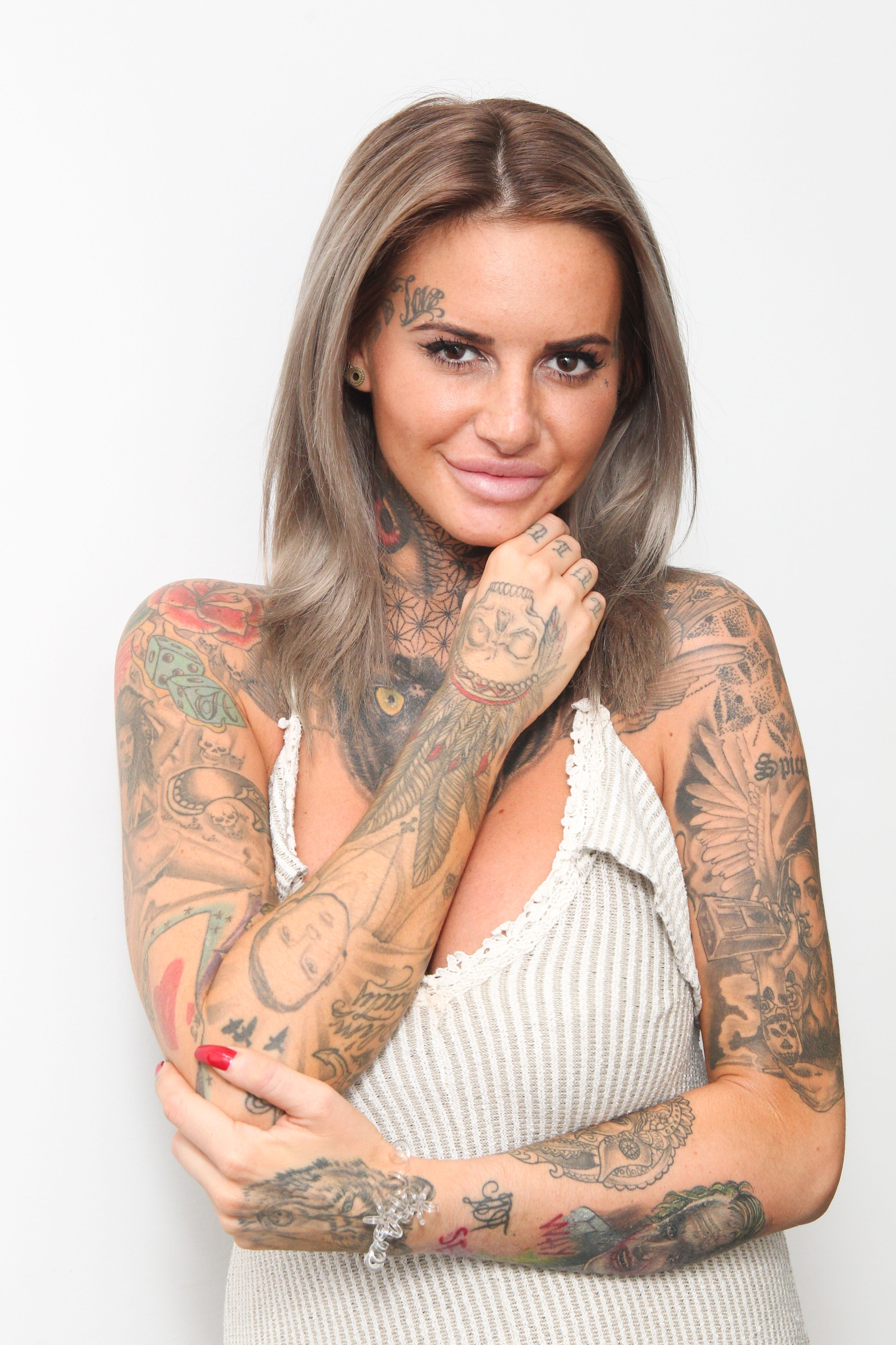 Picture Shows: Jemma Lucy August 18, 2016 Celebrities smile for the cameras as they arrive at Fubar Radio studios in London, England, UK. Non Exclusive WORLDWIDE RIGHTS Pictures by : FameFlynet UK © 2016 Tel : +44 (0)20 3551 5049 Email : info@fameflynet.uk.com