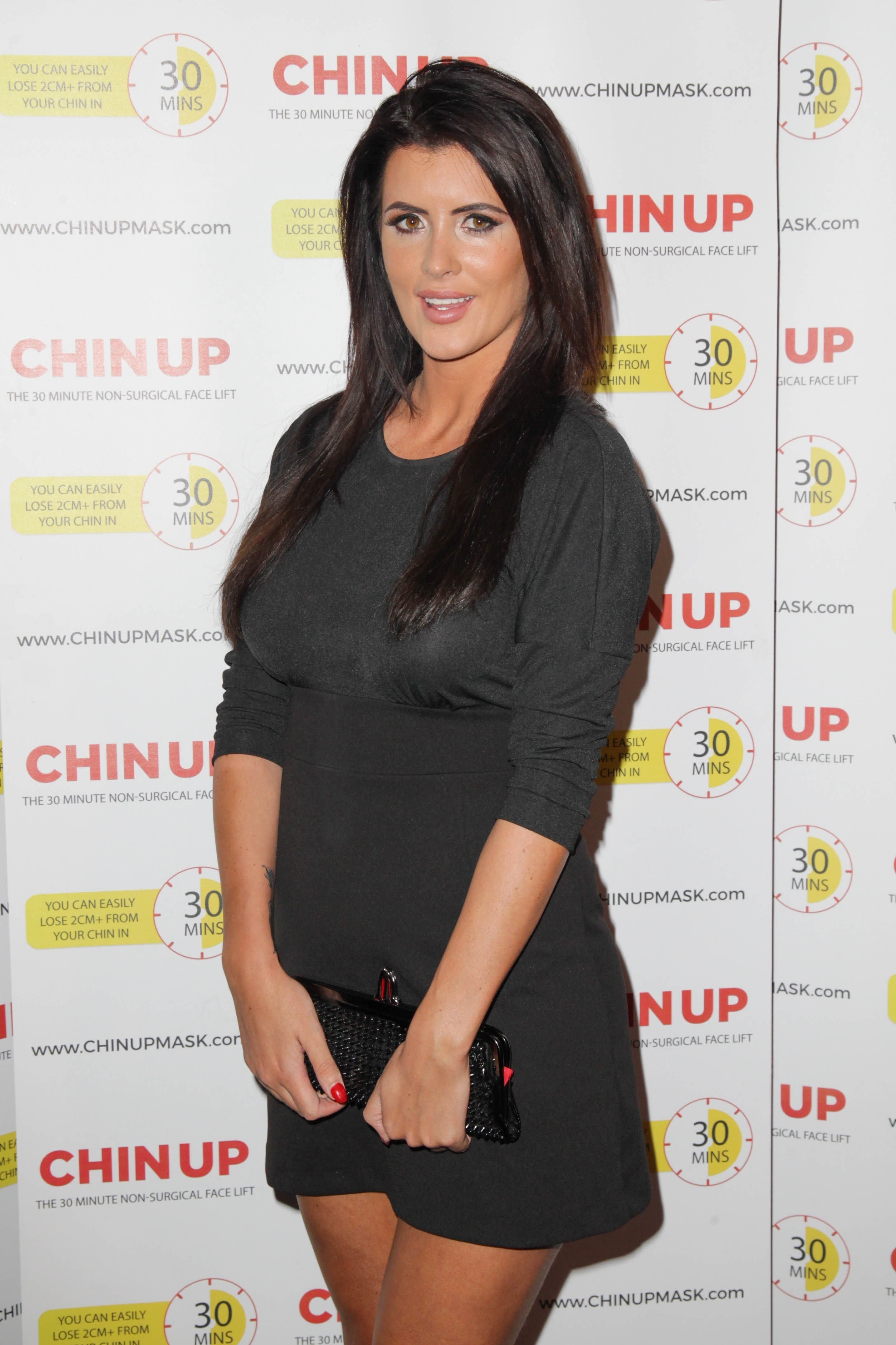 Picture Shows: Helen Wood September 16, 2015 Celebrities attend the new 30-minute non-surgical face lift VIP launch held at Cinema Room, Sanctum Soho Hotel in London, UK. Stars were treated to an exclusive preview launch for 'Chin Up,' a new non surgical face lift product. Non Exclusive WORLDWIDE RIGHTS Pictures by : FameFlynet UK © 2015 Tel : +44 (0)20 3551 5049 Email : info@fameflynet.uk.com