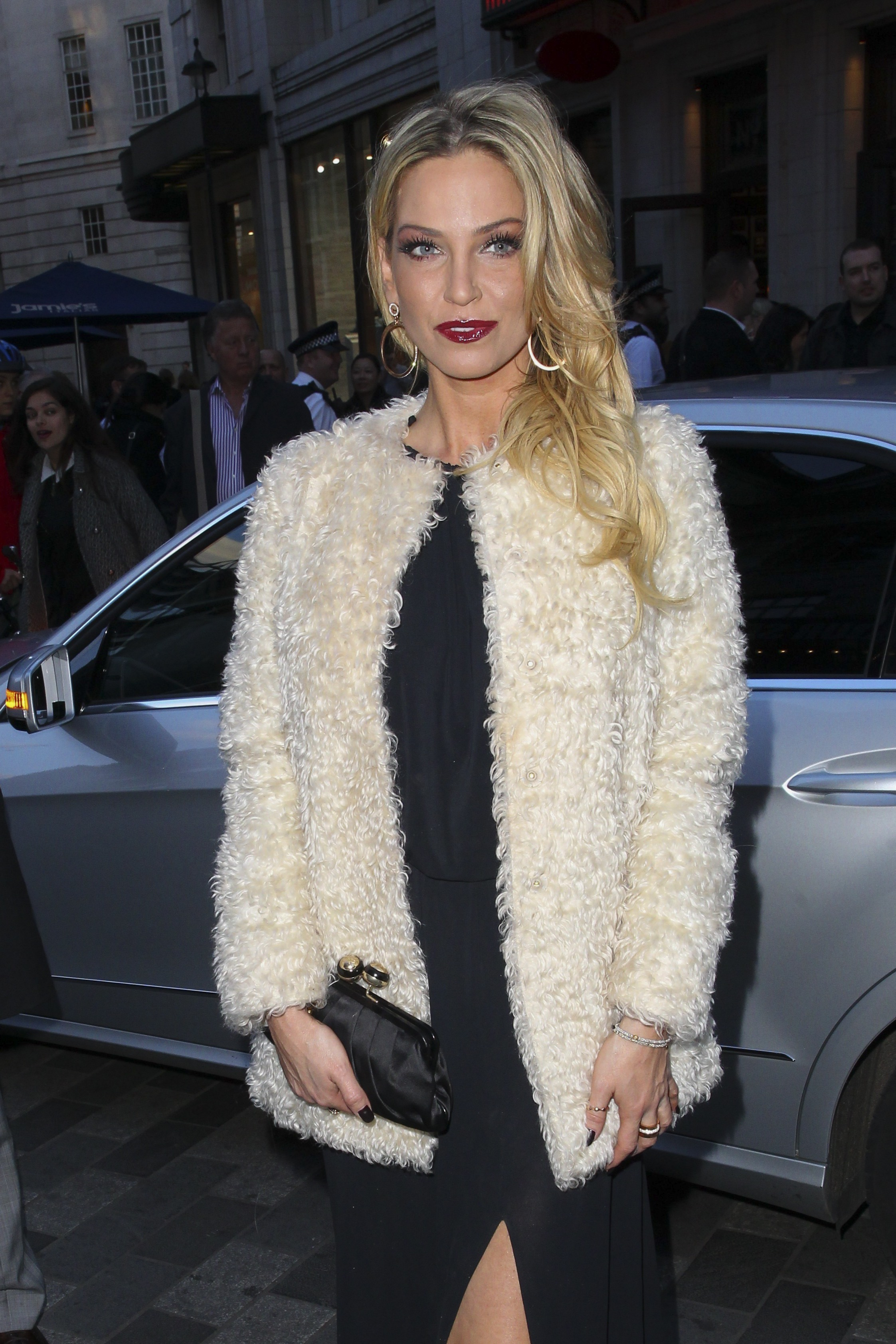 """Picture Shows: Sarah Harding April 12, 2016 Celebrities attend the """"Jersey Boys"""" press night at the Piccadilly Theatre in London, England, UK. Non-Exclusive WORLDWIDE RIGHTS Pictures by : FameFlynet UK © 2016 Tel : +44 (0)20 3551 5049 Email : info@fameflynet.uk.com"""