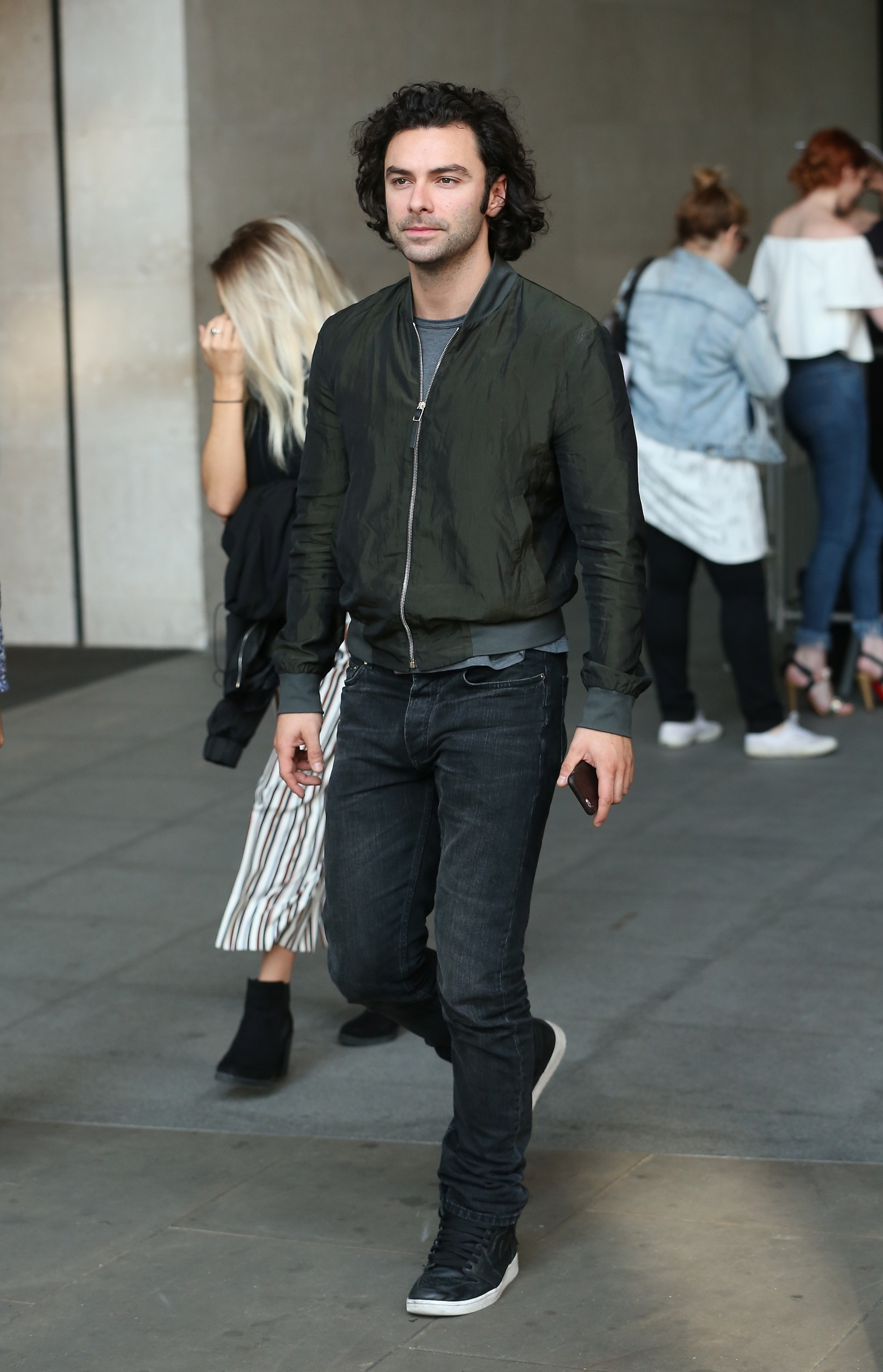 Picture Shows: Aiden Turner August 30, 2012 Stars are seen leaving the BBC studios in London, England, UK. The stars of the BBC drama 'Poldark' spent time with fans before making their way out. Non-Exclusive WORLDWIDE RIGHTS Pictures by : FameFlynet UK © 2016 Tel : +44 (0)20 3551 5049 Email : info@fameflynet.uk.com