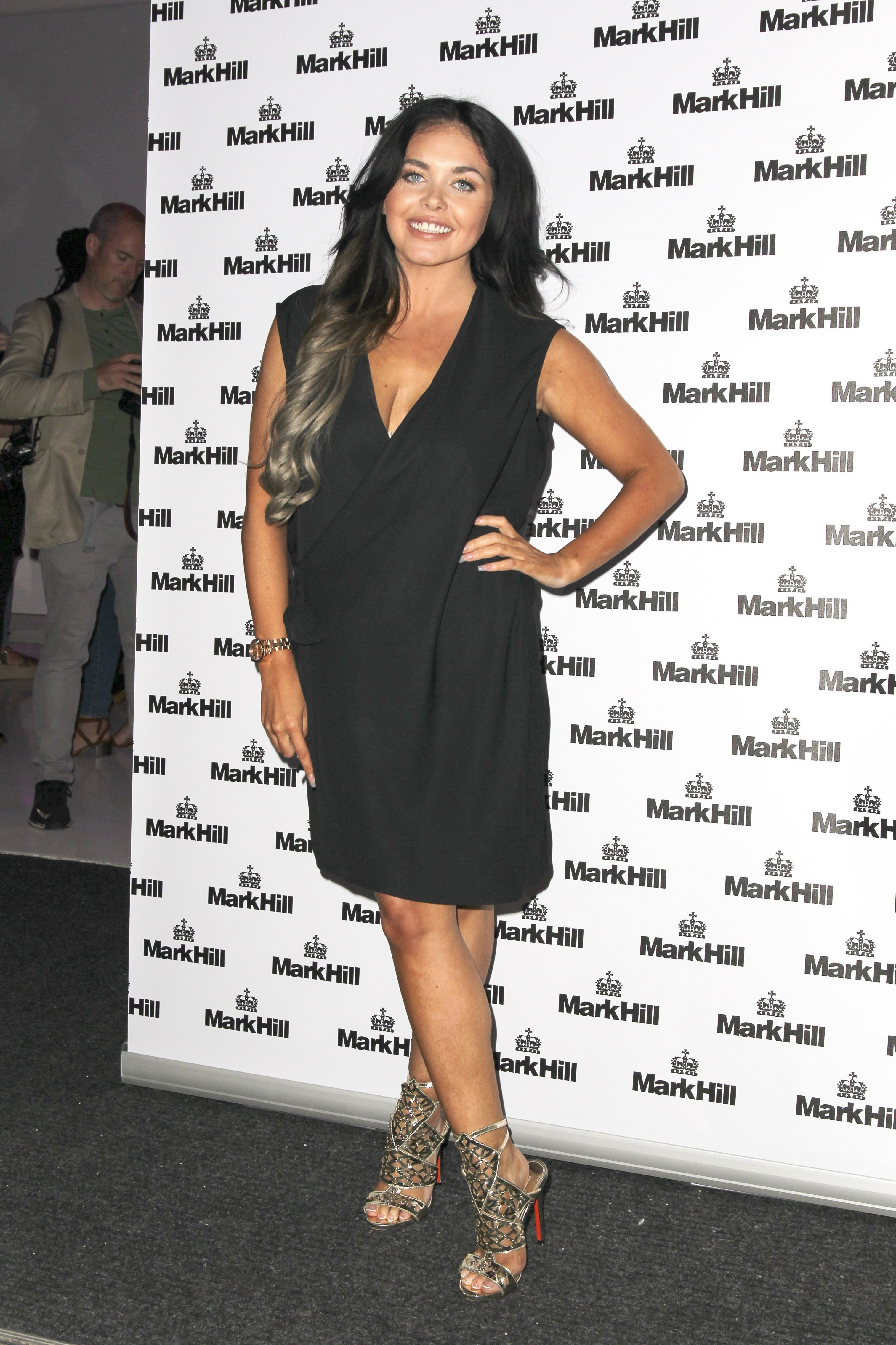 Picture Shows: Scarlett Moffatt July 27, 2016 Celebrities attend the Mark Hill - Pick 'N' Mix party. The Haircare brand hosts the party to celebrate the launch of its new range of electricals at the ICETANK in London, UK. Non Exclusive WORLDWIDE RIGHTS Pictures by : FameFlynet UK © 2016 Tel : +44 (0)20 3551 5049 Email : info@fameflynet.uk.com