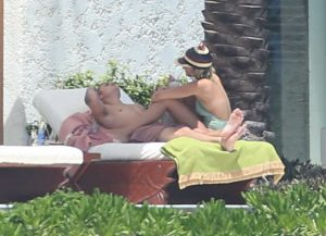 Picture Shows: Justin Bieber, Sofia Richie August 29, 2016 * Min Web / Online Fee £200 For Set * * Min Mag Fee £350 Per Pic * Double For Cover *  Singer Justin Bieber and his girlfriend Sofia Richie are spotted relaxing poolside at their resort in Los Cabos, Mexico.  The cute couple have been enjoying their vacation together for the last couple of days. Sofia could be seen sitting on top of Justin as he laid down on a sun chair * Min Web / Online Fee £200 For Set * * Min Mag Fee £350 Per Pic * Double For Cover *  Exclusive All Rounder UK RIGHTS ONLY Pictures by : FameFlynet UK © 2016 Tel : +44 (0)20 3551 5049 Email : info@fameflynet.uk.com