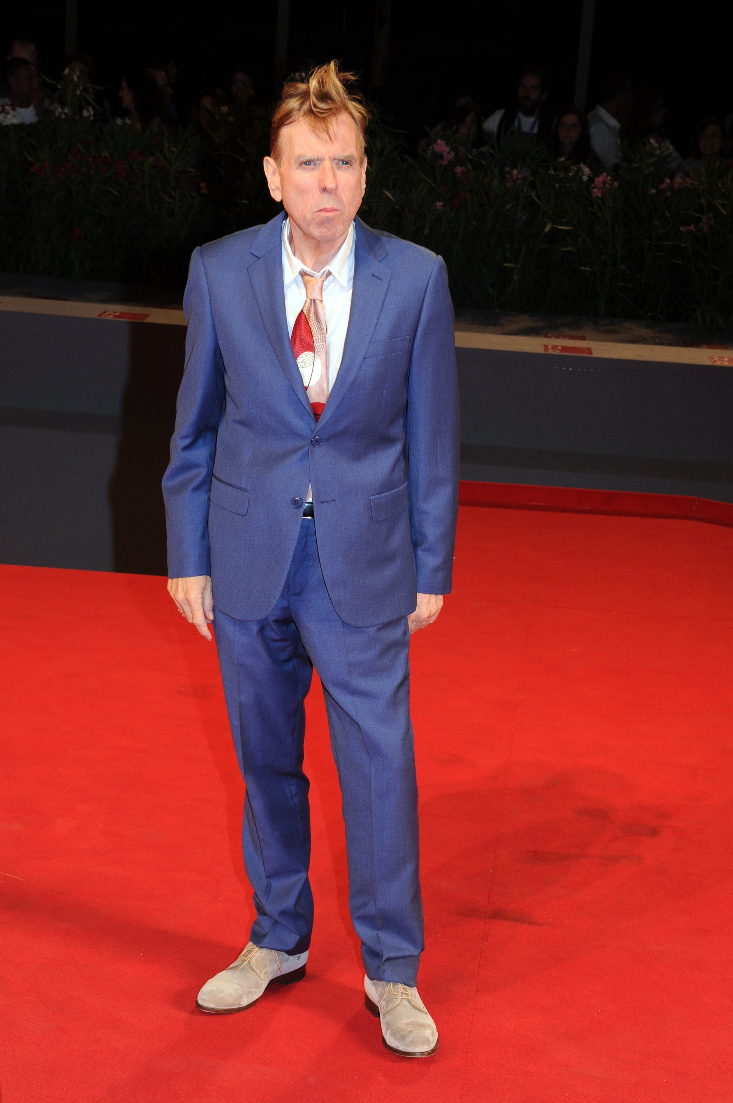 Picture Shows: Timothy Spall September 07, 2016 Celebrities attend 'The Journey' film premiere at the 73rd Venice Film Festival in Venice, Italy. Non Exclusive UK RIGHTS ONLY Pictures by : FameFlynet UK © 2016 Tel : +44 (0)20 3551 5049 Email : info@fameflynet.uk.com