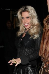 FAMEFLYNET - Alexis Arquette Enjoys A Night Out At Bootsy Bellows In Hollywood