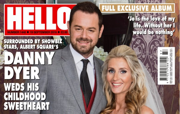 Danny Dyer Reveals Brother Pulled Out Of Best Man Duties At Last Minute