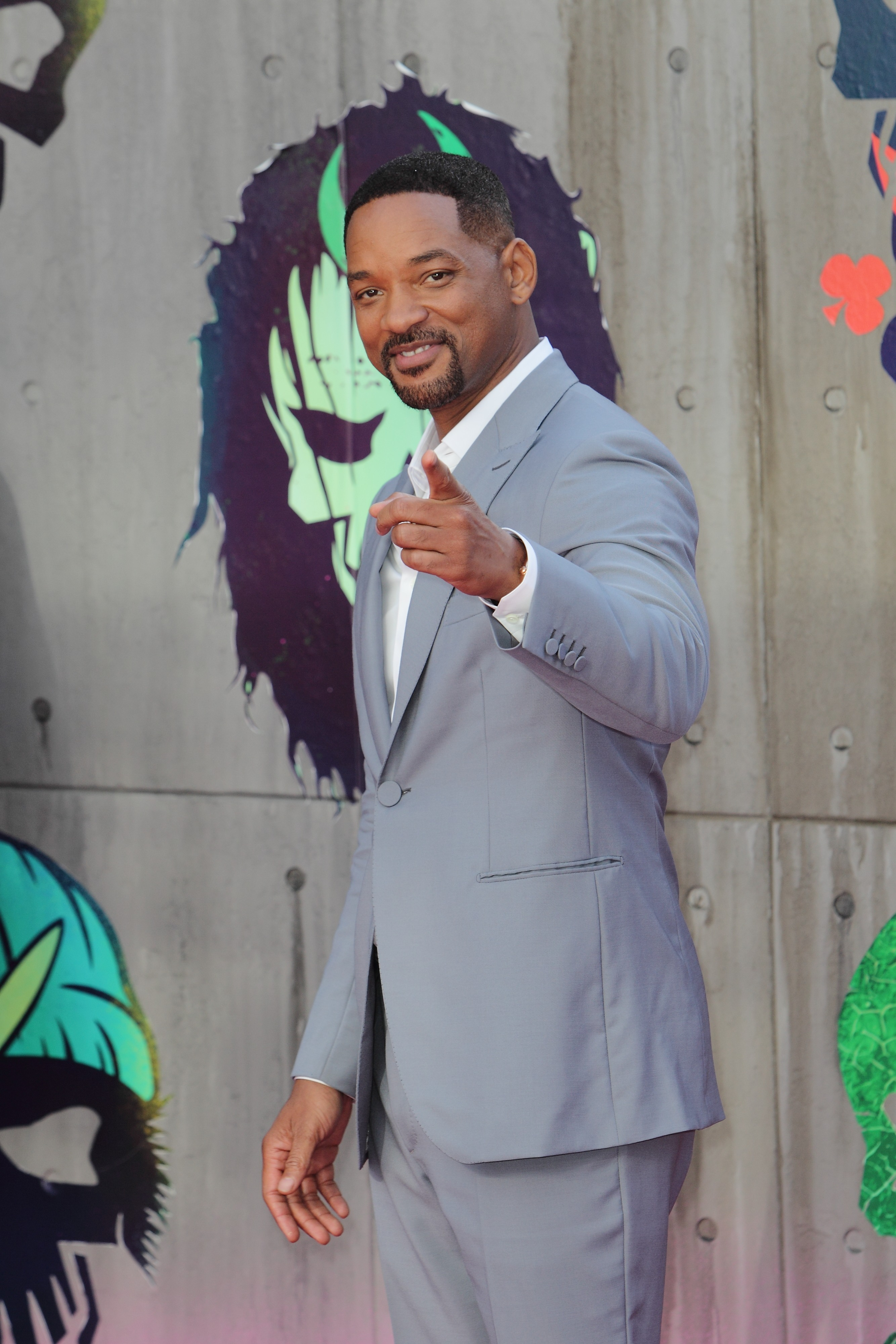 "Picture Shows: Will Smith August 03, 2016 Celebrity guests arrive on the red carpet at the ""Suicide Squad"" European premiere at The Odeon in Leicester Square in London, England, UK. Non-Exclusive WORLDWIDE RIGHTS Pictures by : FameFlynet UK © 2016 Tel : +44 (0)20 3551 5049 Email : info@fameflynet.uk.com"