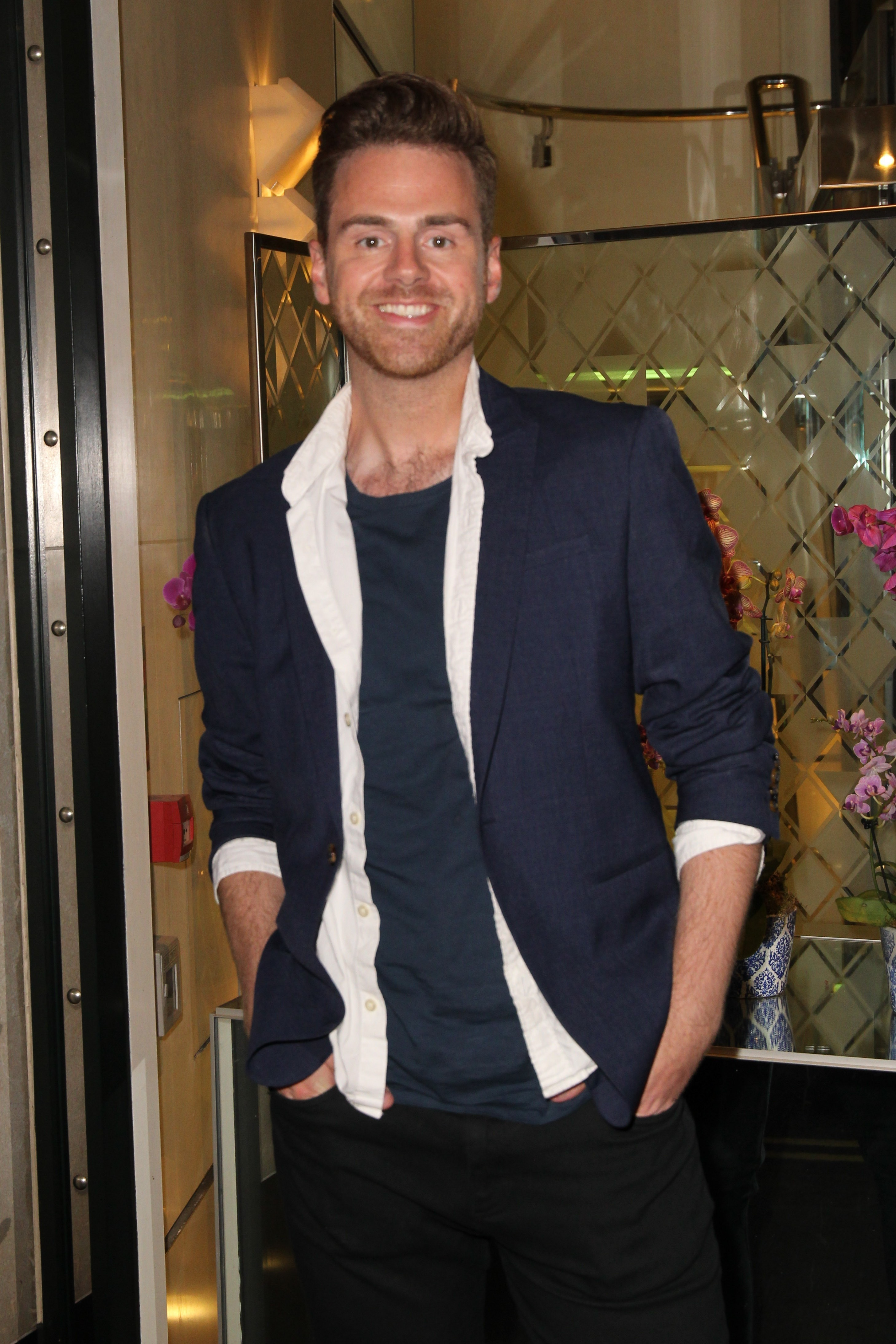 Picture Shows: Andy West August 11, 2016 Guests seen attending the Diva magazine relaunch party held at the Ivy Club in London, United Kingdom. Non Exclusive WORLDWIDE RIGHTS Pictures by : FameFlynet UK © 2016 Tel : +44 (0)20 3551 5049 Email : info@fameflynet.uk.com