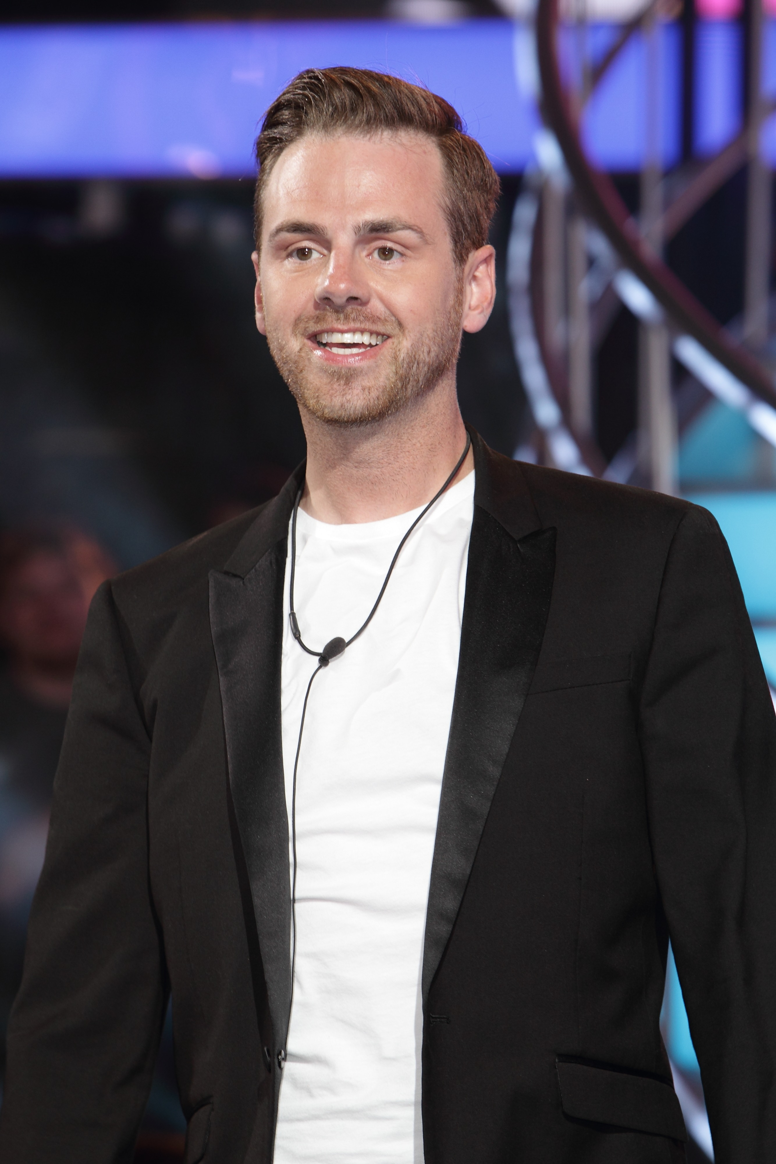 Picture Shows: Andy West July 26, 2016 Evictees and celebrities attend the 'Big Brother' UK final night held at Elstree Studios in Elstree, England.  Non-Exclusive WORLDWIDE RIGHTS Pictures by : FameFlynet UK © 2016 Tel : +44 (0)20 3551 5049 Email : info@fameflynet.uk.com