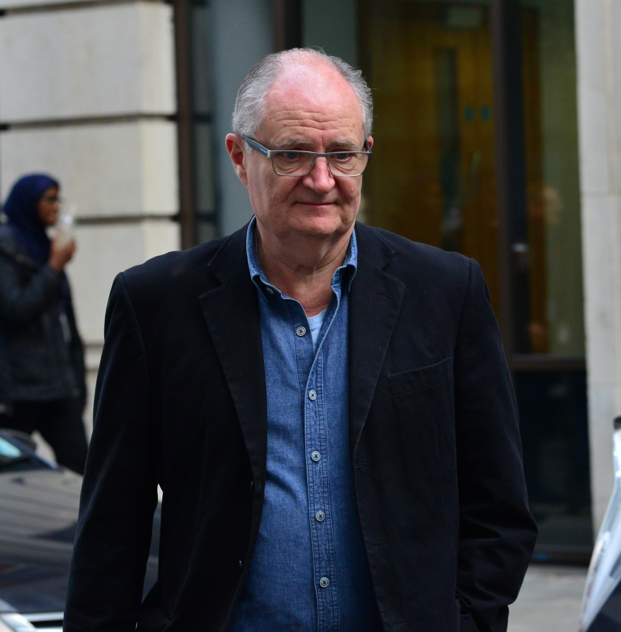 Picture Shows: Jim Broadbent November 27, 2014 Celebrities are seen outside the BBC Studios in London, England. Non Exclusive WORLDWIDE RIGHTS Pictures by : FameFlynet UK © 2014 Tel : +44 (0)20 3551 5049 Email : info@fameflynet.uk.com