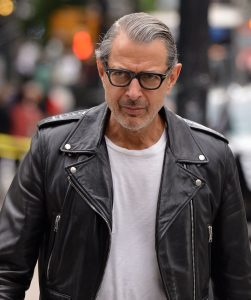 FAMEFLYNET - Jeff Goldblum Seen Out And About In Tribeca NYC