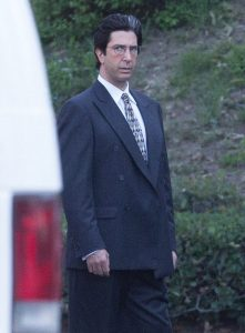 FAMEFLYNET - Exclusive: Stars Filming American Crime Story In Los Angeles