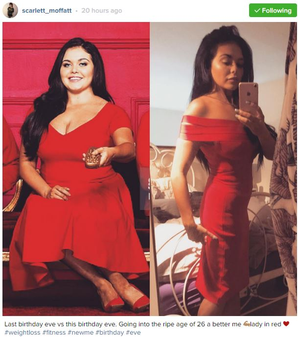 Scarlett Moffatt Reveals Dramatic Weight Loss In Stunning