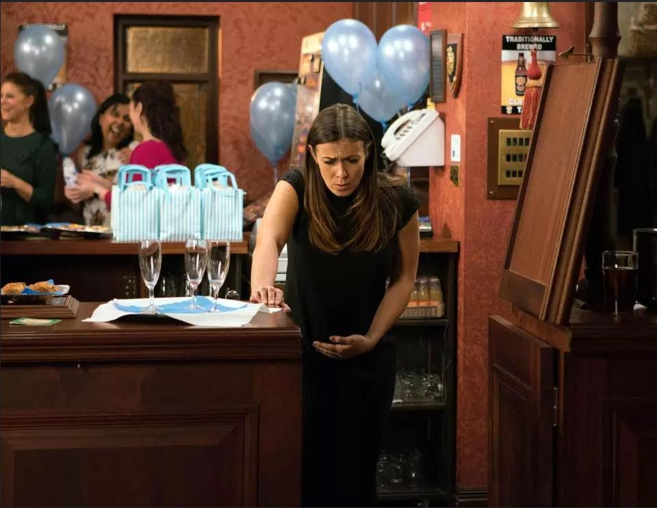 Coronation Street viewers moved to tears as Michelle loses her baby