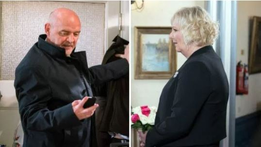Corrie: Killer Phelan to jilt Eileen at the altar