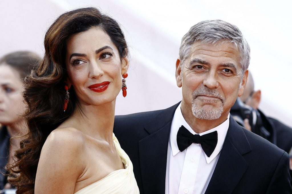 George Clooney Trashes Trump at César Film Awards