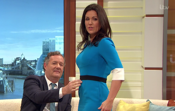 Piers Morgan has suggested Susanna Reid could be PREGNANT