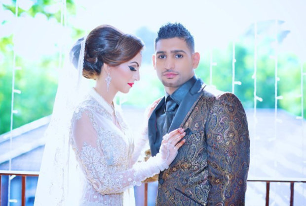 leaked footage of amir khan shows him apparently cheating