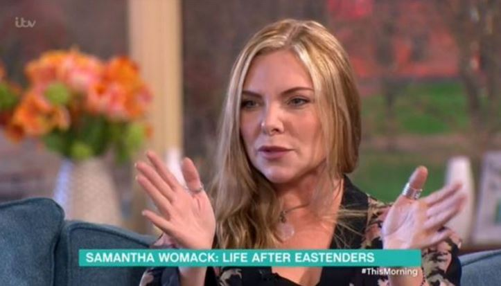 EastEnders' Samantha Womack is looking a LOT different these days