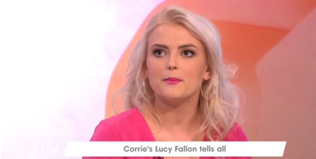 Corrie's Lucy Fallon on why boyfriend can't watch grooming scenes
