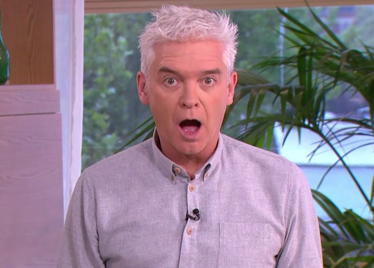 Phillip Schofield spills the beans about his and Holly Willoughby's TV salaries