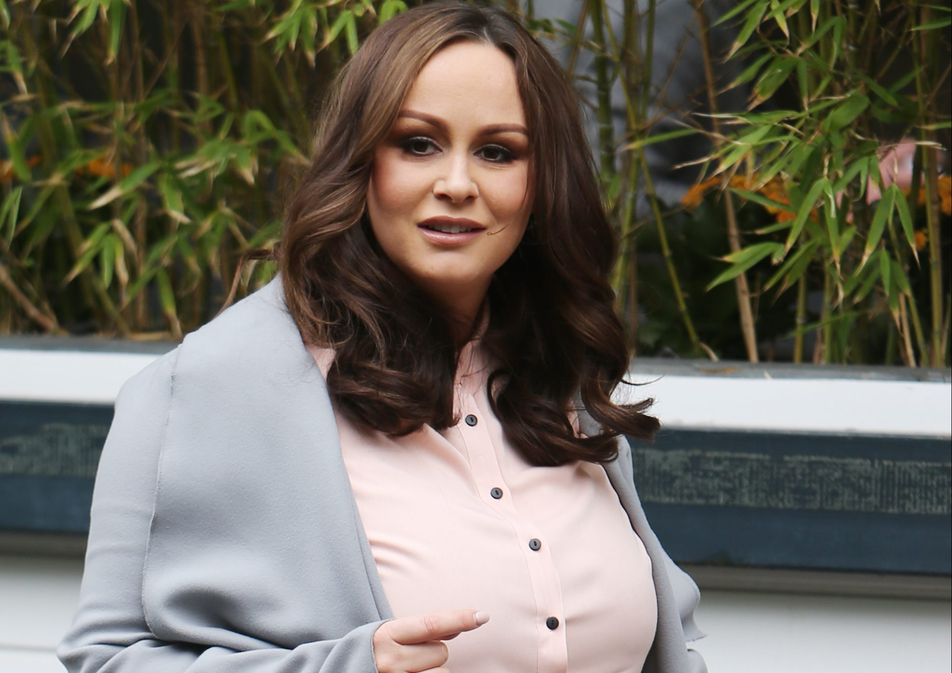 Pregnant Chanelle Hayes rushed to hospital