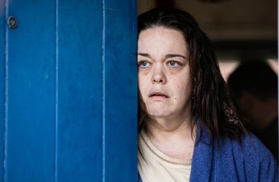 Lisa Riley close to tears as she discusses harrowing Three Girls