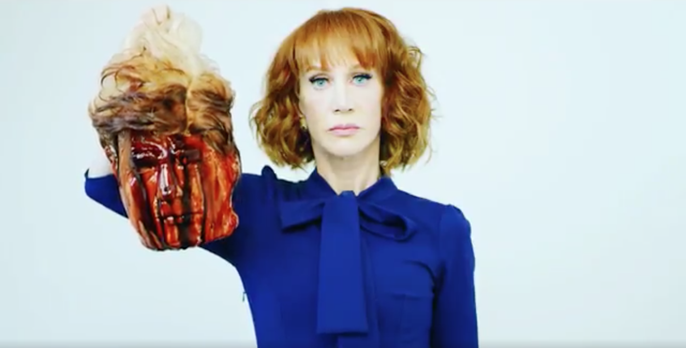 from Cole kathy griffin fake images