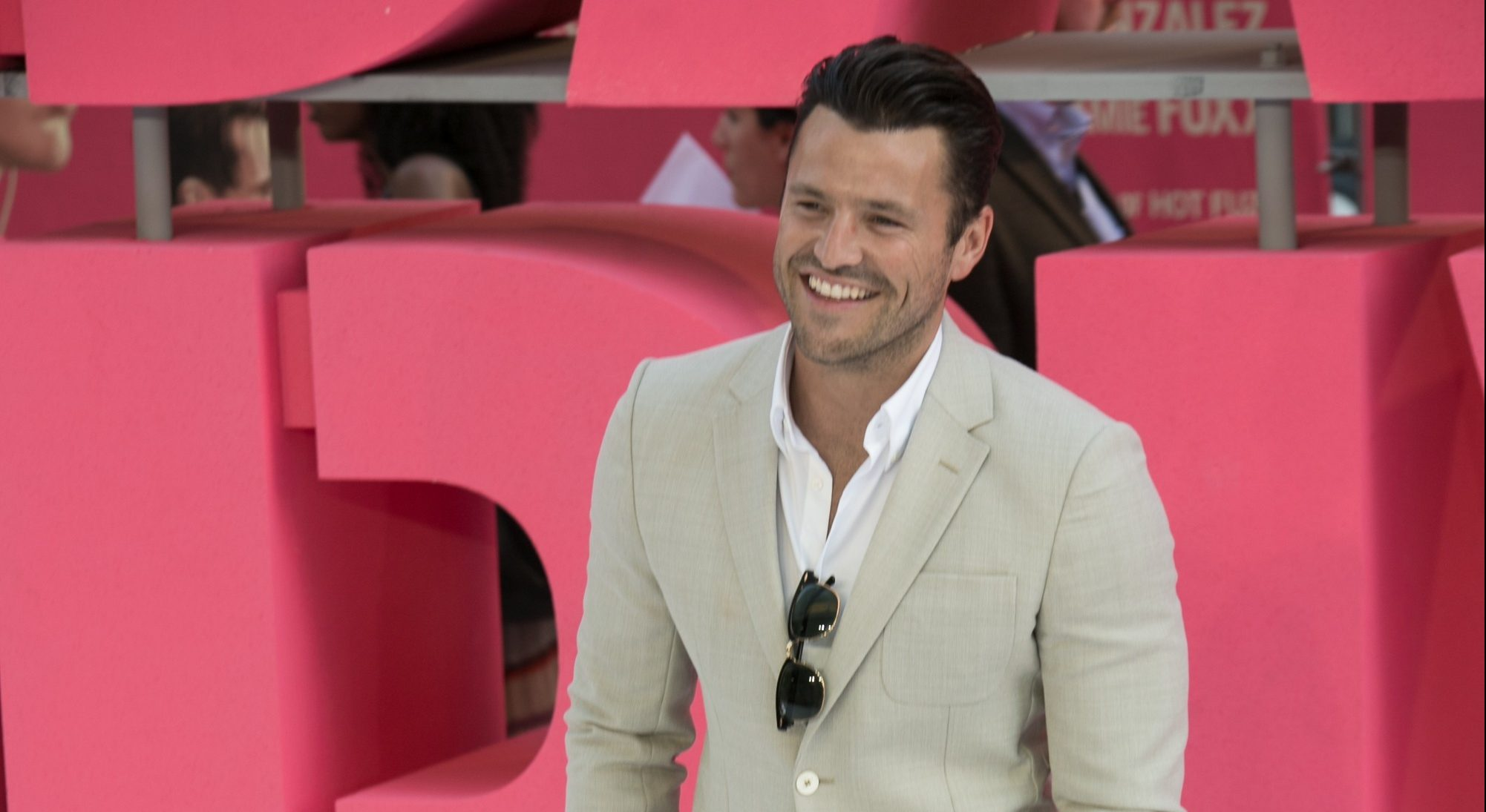 Mark Wright has picked up some VERY famous pals in LA ...