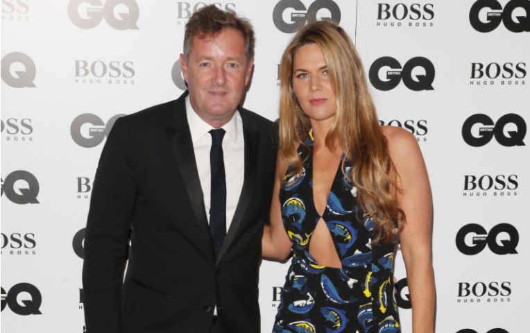 Piers Morgan Shares Sweet Throwback Photo Of Wedding Day