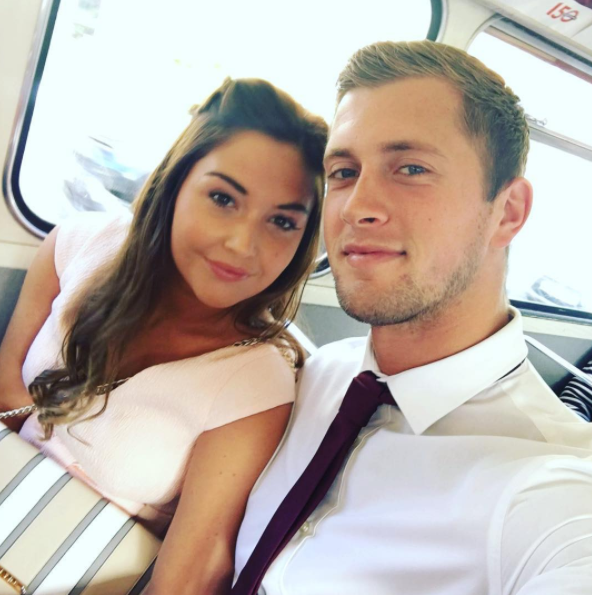 Jacqueline Jossa and Dan Osborne are MARRIED (and her dress is incredible)
