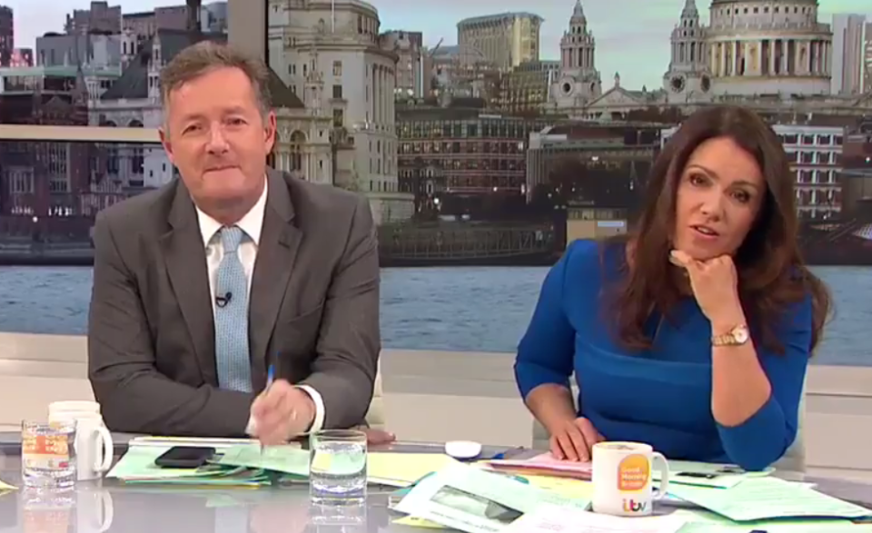 Good Morning Britain Co-Host Masterfully Trolls Piers Morgan to His Face