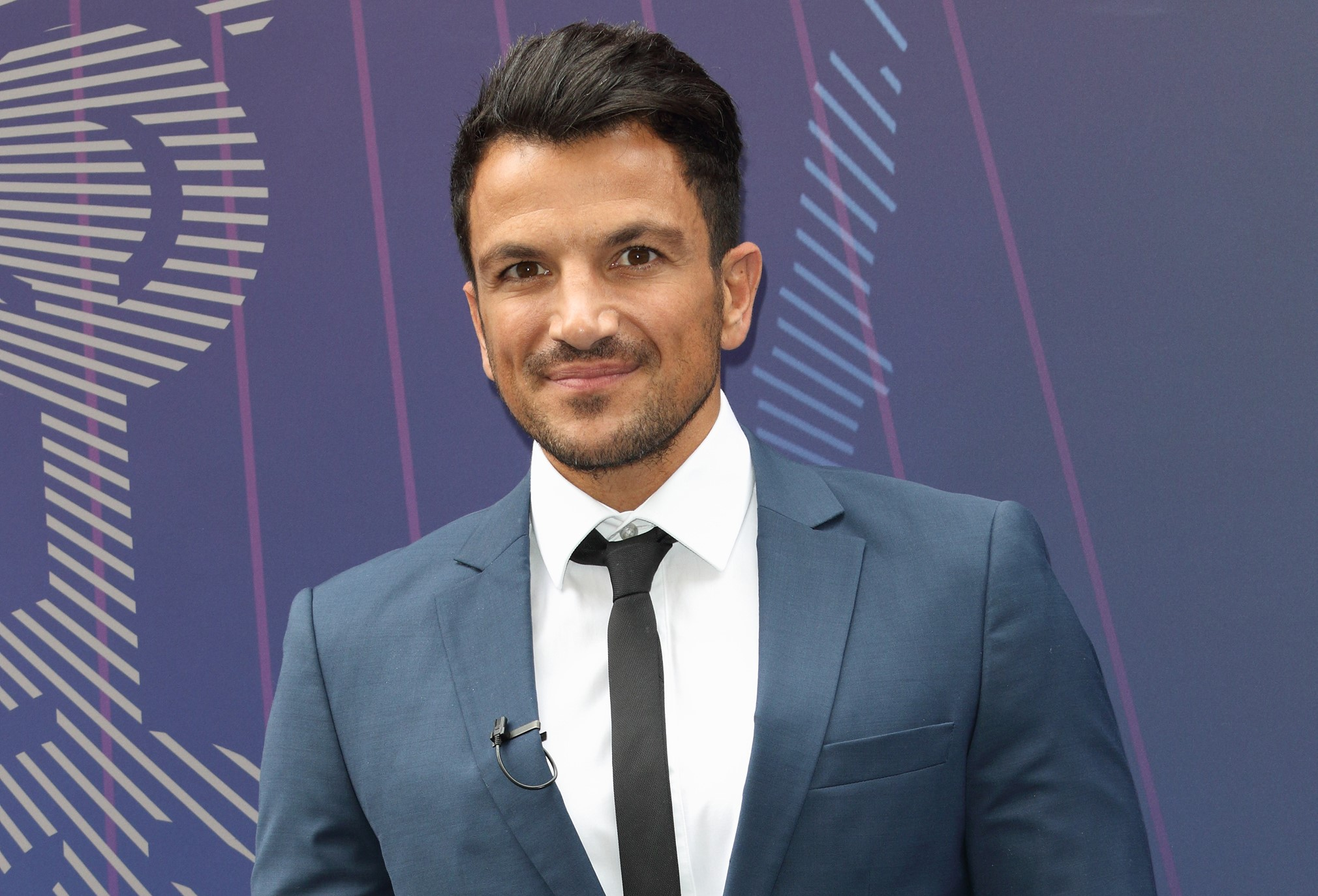 Peter Andre baffled by son Junior's rapping skills in funny video