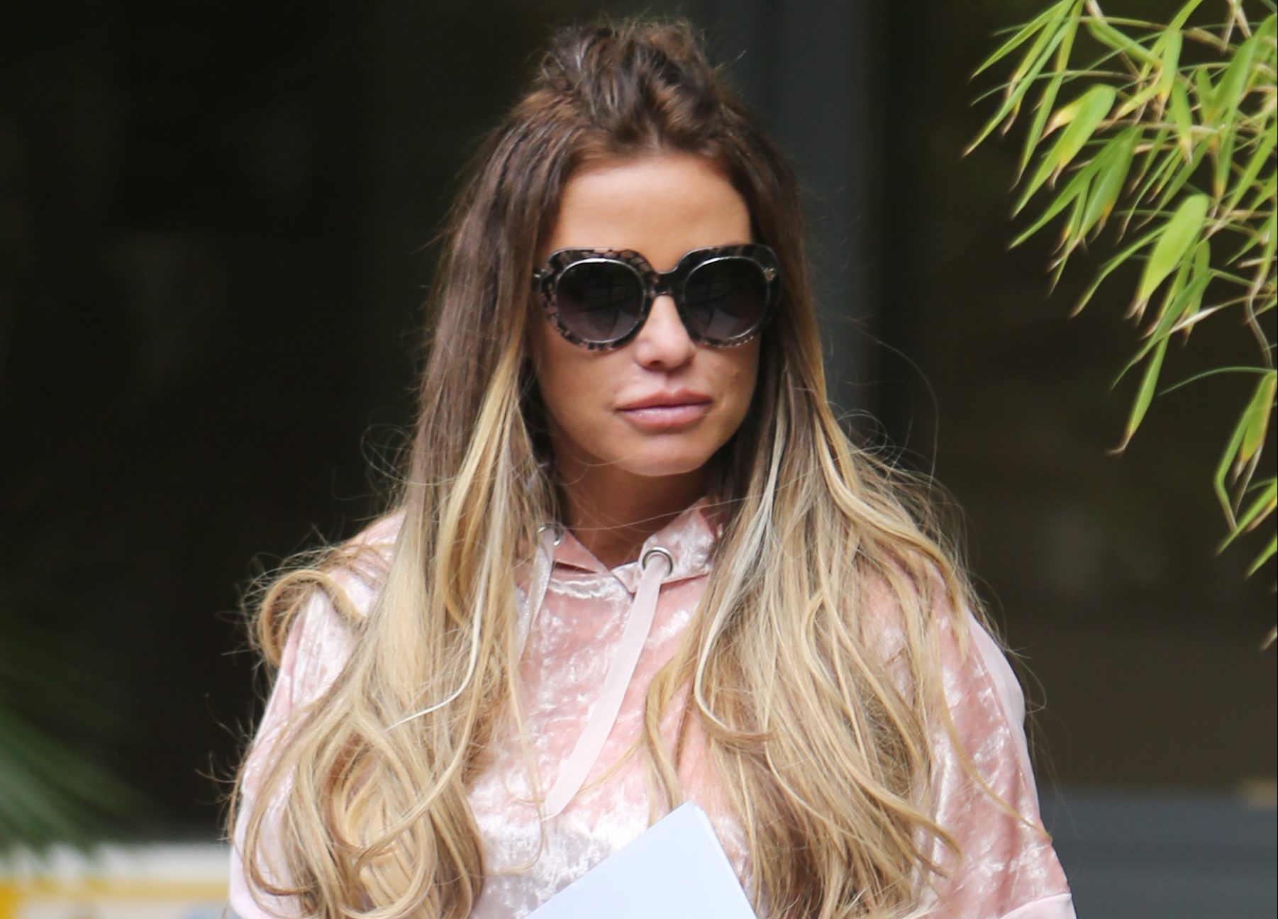 Katie Price finds adorable video of Princess on her phone and shares it with her fans