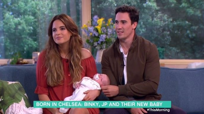 Binky Felstead and JP planning for baby number two