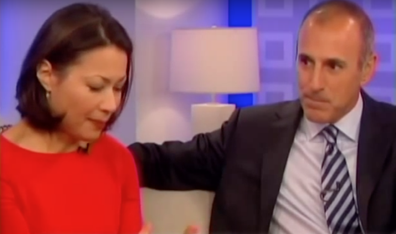 Ann curry accused of snubbing matt lauer as she reveals - Matt today show ...