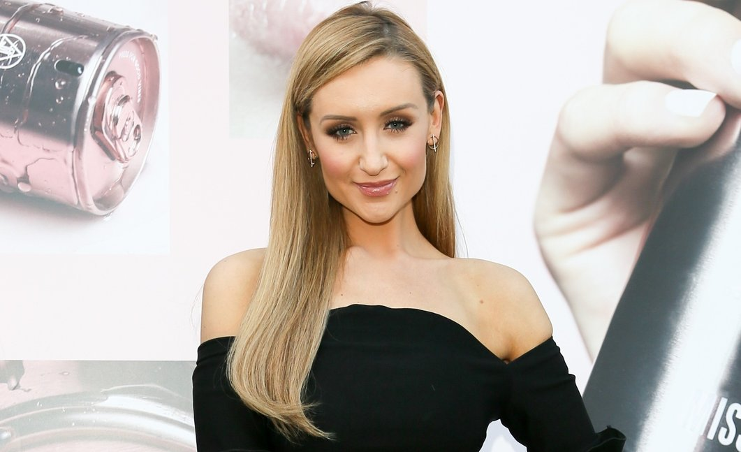 "Catherine Tyldesley admits she's ""broody"" in sweet video on Corrie set"