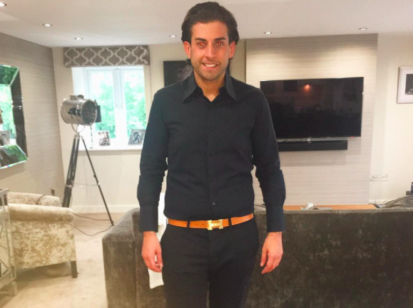 TOWIE's James 'Arg' Argent returns to Thailand for body slimdown