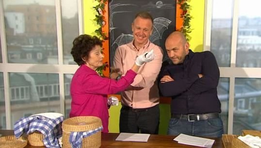 Sunday Brunch viewers in meltdown as 'bat lady' guest silences Tim and Simon