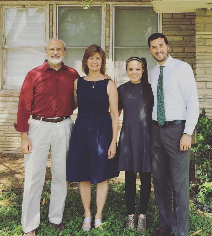 Jinger Duggar broke with family tradition by wearing pants.