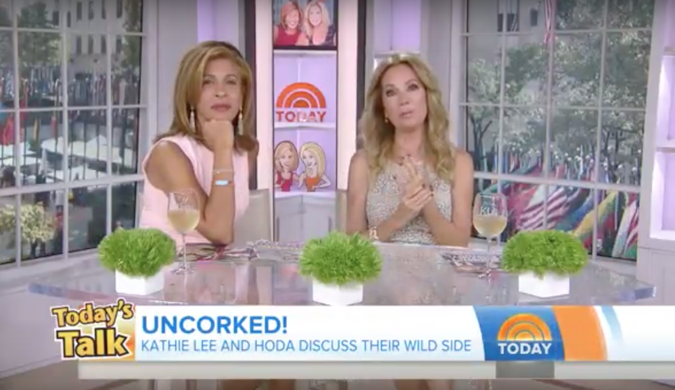Kathyleegiffordnude Classy saucy kathie lee gifford shares the wildest thing she ever did