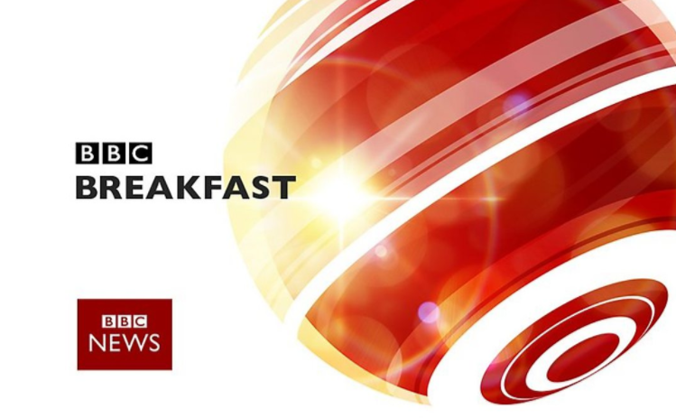 BBC breakfast presenter accidentally flashes knickers live on air