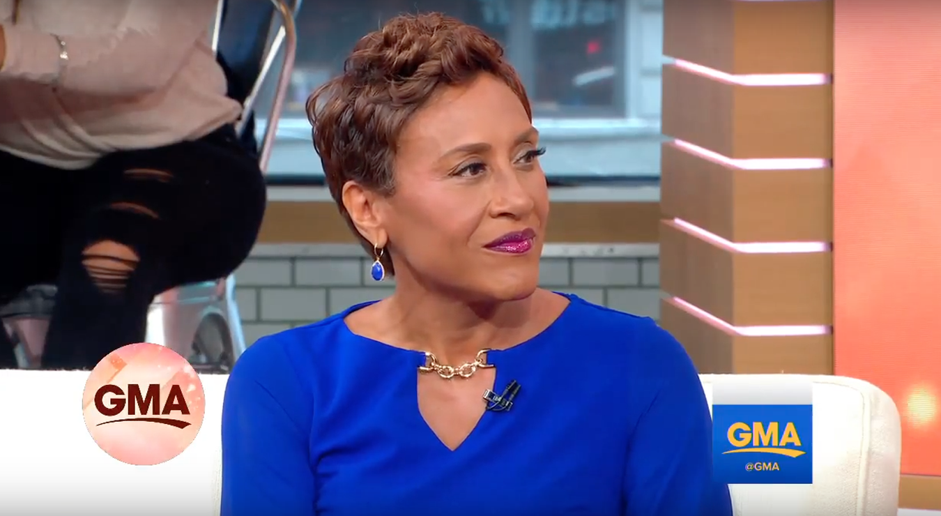 Robin Roberts Stuns 'GMA' Viewers With 'Gorgeous' Look