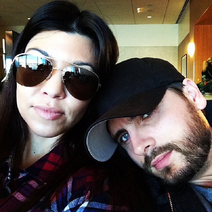 Scott Disick, Model Sofia Richie Instagram Official With