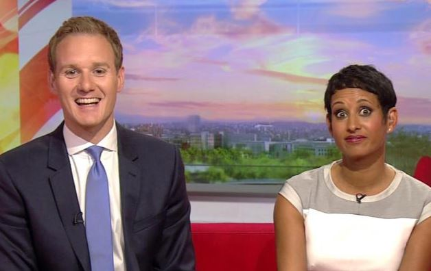 Viewers shocked as BBC presenter Dan Walker accidentally drops the C-bomb on live TV