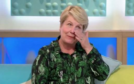 Sandi Toksvig in tears on Sunday Brunch as she discusses Bake Off